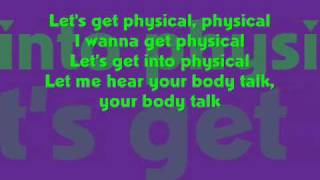 Physical - Olivia Newton John w/ lyrics