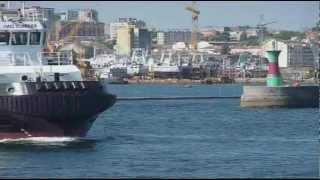 Película remolcador KORKA DIALLO para Guinea Conakry construido en Vigo