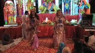 RADHE KRISHNA DANCE IN JAGRAN ON 23 OCT 2009 HD HIGH QUALITY