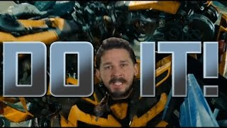 Shia LaBeouf is sick of the Autobots - DO IT!!! [Transformers Alternate Scenes]