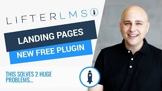 LifterLMS Landing Pages - Free Plugin To Help You Sell Your Courses The Right Way