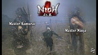 Nioh: Master Samurai vs Master Ninja