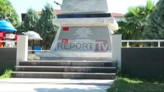 Report TV - Dhunohet memoriali i gjeneralit turk Hasan Riza Pasha në Shkodër
