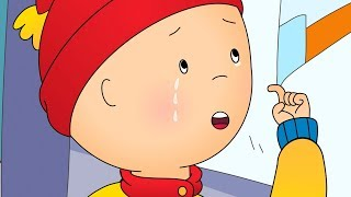 Caillou goes Shopping and Cries | Funny Animated cartoons Kid | WATCH ONLINE | Cartoon for Children