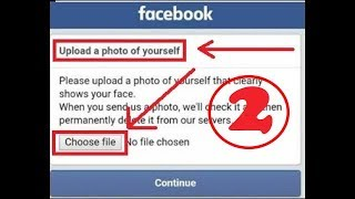 Photo Self Bypass with Verify Facebook Account Agust 2017 updated