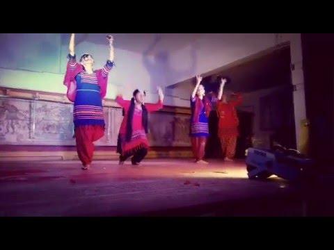 Bumro Bumro Shyam Rang Dance perfomance Santi Niketan