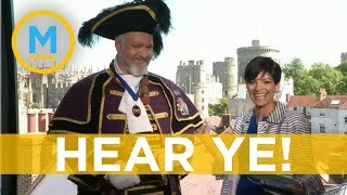 The importance of a town crier during the royal wedding | Your Morning