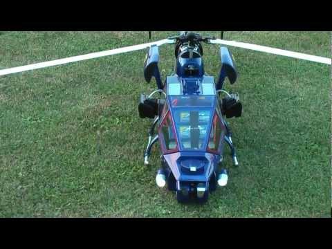 Blue Thunder RC Helikopter 700 3-Blatt