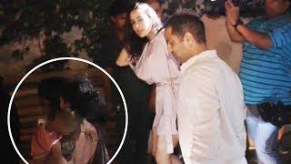 Sara Ali Khan POLITELY REQUESTS a beggar to get aside
