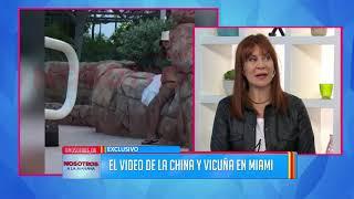 El tierno video de la China Suárez en bikini con Benjamín Vicuña en Miami