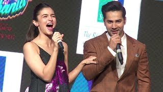 Alia & Varun's FUNNY Moments During Badrinath Ki Dulhaniya Promotions