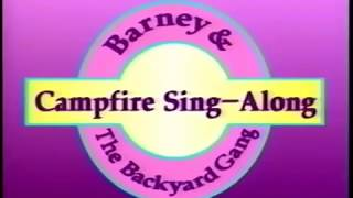 Barney's Campfire Sing-Along Custom Theme (Backyard Gang Version)