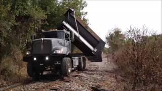 Kenworth Roto Dump in Action!