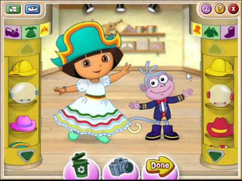 1 Dora The Explorer Ballet Adventure Full Game 1 3 YouTube.flv