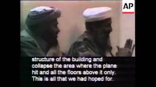 Pentagon-Released Video of Osama bin Laden Talking About Terrorist Attacks B