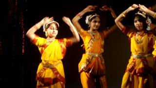 Momo Chitte Niti Nritye- Bharatnatyam Fusion on Tagore Song