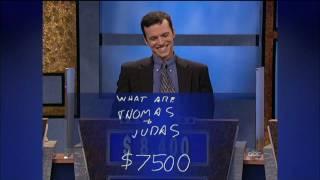 JEOPARDY! 25th Anniversery Spotlight- Ken Jennings becomes 74-Day Champion [720p HD]