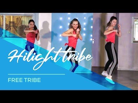 Hilight Tribe Combat Fitness Workout Dance Choreography Free Tibet Vini Vici Remix