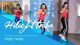 Hilight Tribe - Combat Fitness Workout Dance Choreography - Free Tibet - (Vini Vici Remix)