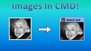 Images In CMD! | Tips and Tricks! #7