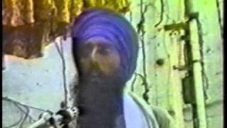 RARE video. Sant Jarnail Singh Ji Khalsa Bhindranwale speech at Baba Atal Rai Gurdwara Sahib