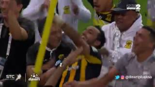 فرحة لاعبين الاتحاد ورقص محمود كهربا بعودة الصدارة بعد الفوز على الفتح