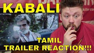 KABALI - Tamil - TRAILER REACTION!!!