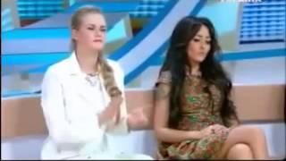 Ukraine TVchannel, Dasha Astafieva and Breast Weight by 306