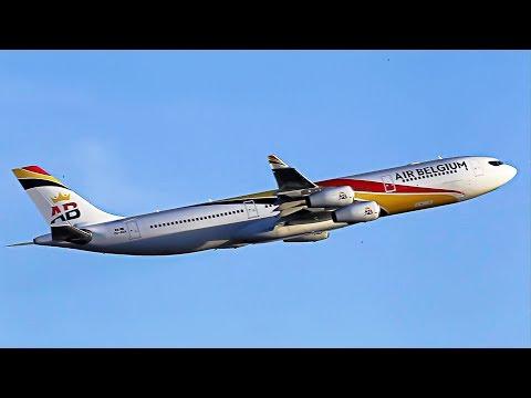 Xxx Mp4 A340 Air Belgium First Commercial Flight For SLM Surinam Airways To Paramaribo 3gp Sex