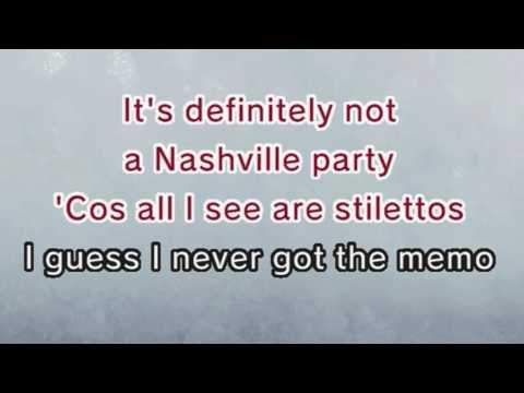 watch Miley Cyrus - Party In The U.S.A. (Karaoke and Lyric Version)