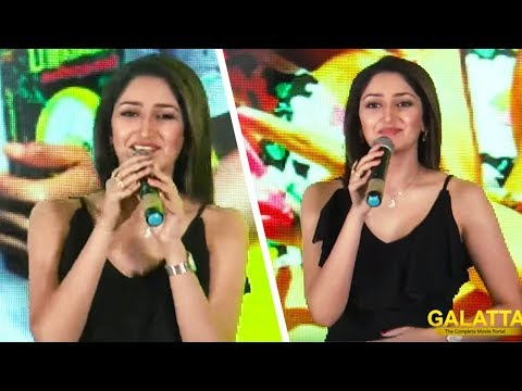 Xxx Mp4 Sayyeshaa Speech Ghajinikanth First Single Launch Arya Karunakaran 3gp Sex