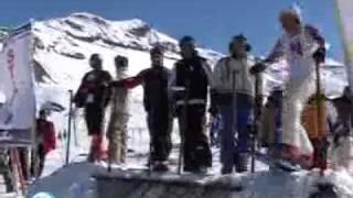 Dizin skiing resort , اسکی در پیست دیزین در تهران