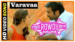 Naanum Rowdy Dhaan Movie  Songs  Varavaa Song  Parthiban Escape From Mansoor And Vijay Sethupathi