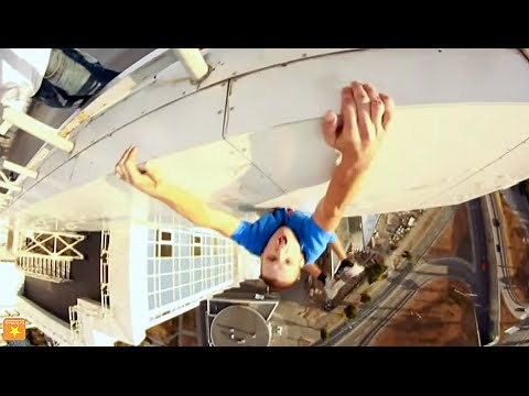 Crazy Russians Tower Climbing Compilation [HD]   Fun Del Mundo