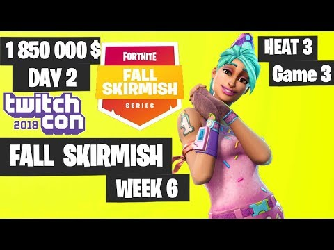 Xxx Mp4 Fortnite Fall Skirmish GREAT GAME Week 6 Heat 3 Game 3 Highlights Fortnite TwitchCon 3gp Sex