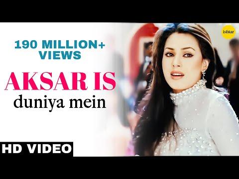Aksar Is Duniya Mein -HD VIDEO SONG   Suniel Shetty & Mahima Choudhary   Dhadkan   Bollywood Song