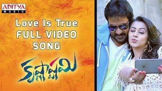 Love Is True Full Video Song || Krishnashtami Full Video Songs