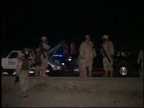 Rose entre Federales y Militares en Tijuana