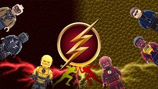 LEGO CW Flash TV Version Custom Minifigures Review By LYL