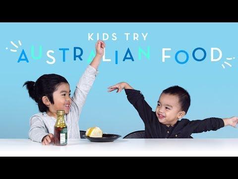 Kids Try Australian Food Kids Try HiHo Kids