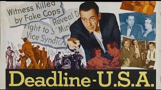 DEADLINE - U.S.A. (1952) Widescreen + Full length Humphrey Bogart