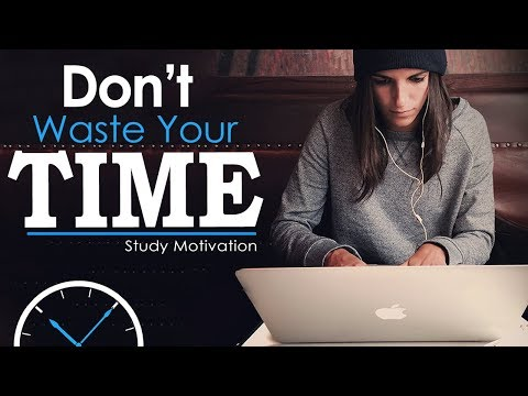 Download DON'T WASTE TIME - Best Study Motivation for Success & Students (Most Eye Opening Video) free