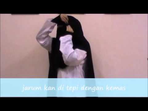 tutorial tudung yaman