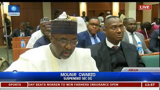 """I Was Told To Resign Or Be Suspended"" Gwarzo Levels Allegations Against Adeosun Pt.3"