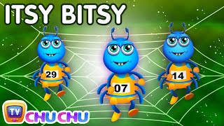 Itsy Bitsy Spider Nursery Rhyme With Lyrics - Cartoon Animation Rhymes & Songs for Children