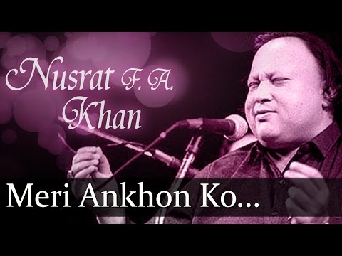 Xxx Mp4 Meri Ankhon Ko Ankhon Ka Nusrat Fateh Ali Khan Top Ghazal Songs 3gp Sex