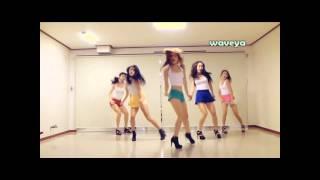 PSY(Hyuna) gangnam style - waveya