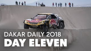 Day 11: Can Peterhansel Catch Sainz? | Dakar Daily 2018