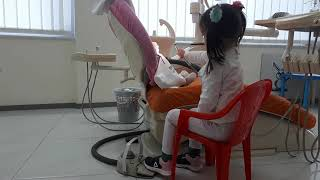 ▶️🐰RIGA🐰 duke pastruar dhëmbët e lepuroshit🐇🐇🐇 te Klinika Dentare Dent-In 😘