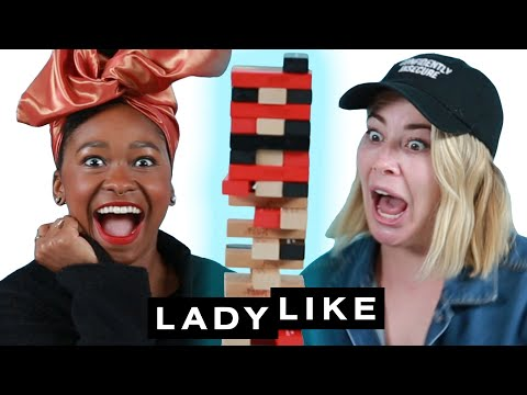 Freddie And Kelsey Play Truth Or Dare Jenga • Ladylike